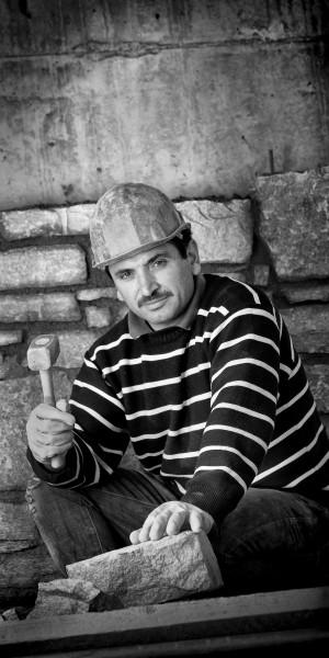 Portrait d'un collaborateur de BP construction