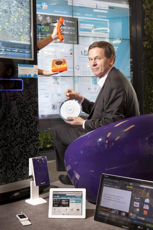 Directeur de l'innovation et des nouvelles technologies chez Bouygues Télécom