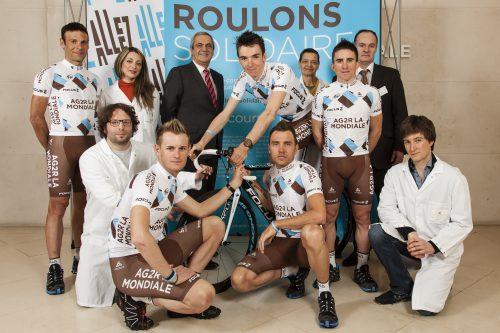 Reportage sur l'opération du prochain Tour de France