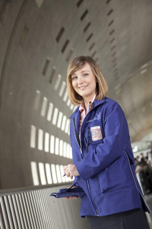 Collaboratrice d'Aéroport de Paris