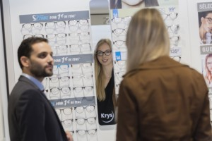 Reportage magasin Krys