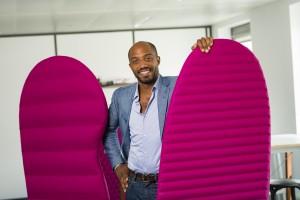 Portrait de Maurice Ndiaye de Synomia pour Arvato