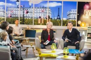 TELETHON 2017 : EMISSION STUDIO FRANCE TELEVISIONS SAMEDI