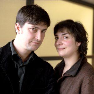 Vincent Baudriller et Hortense Archimbault
