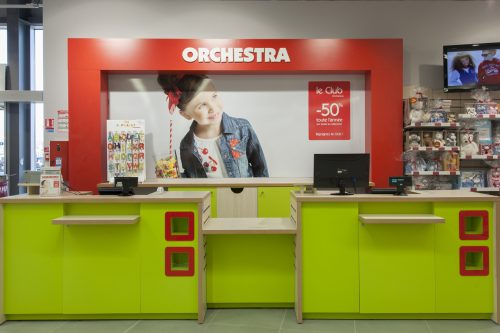 Concept store Ochestra